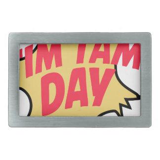 16th February - Tim Tam Day - Appreciation Day Belt Buckle