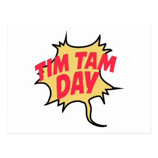 16th February - Tim Tam Day - Appreciation Day Postcard