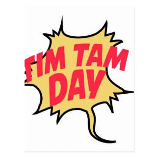 16th February - Tim Tam Day - Appreciation Day Postcard