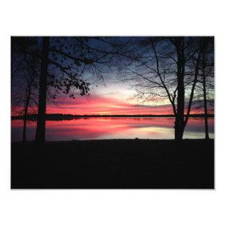 16x12 Pink Sky at Morning Print Photographic Print