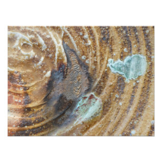 16x20 Abstract wood fired ceramic with ash drip Photo