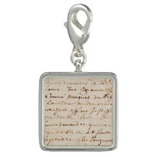 1700s Vintage French Script Grunge Parchment Paper Charm