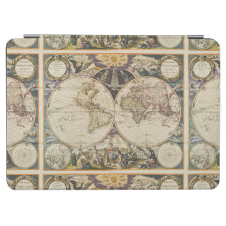 1702 A new map of the world iPad Air Cover
