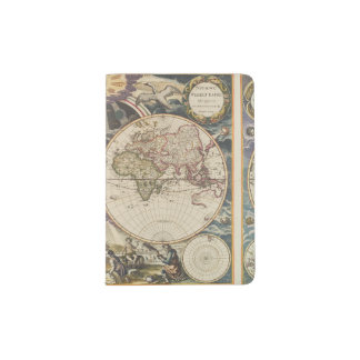 1702 A new map of the world Passport Holder
