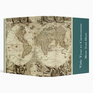 1708 World Map by Jean Baptiste Nolin Binders