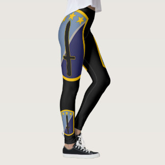 170th Infantry Brigade On Black Leggings