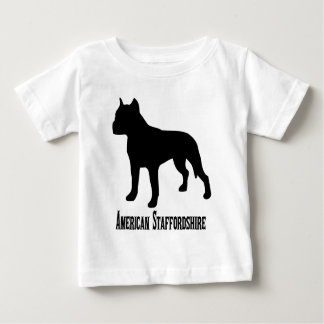 1715112006 American Staffordshire Terrier (Animale Baby T-Shirt