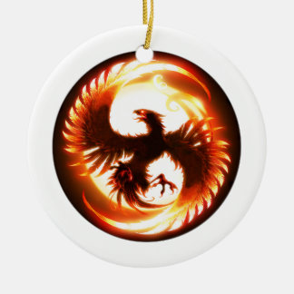 173D BSTB(A) Phoenix Ceramic Ornament