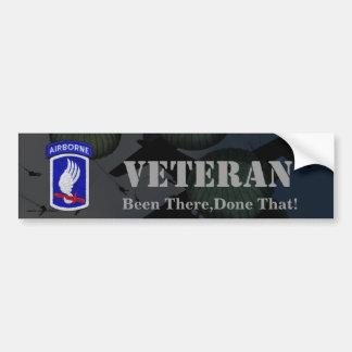 173rd airborne brigade veterans bumper sticker
