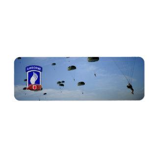 173rd airborne brigade veterans return address