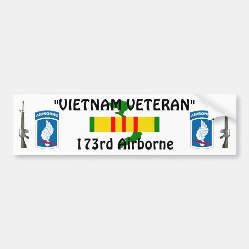 173rd Airborne bumper sticker