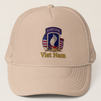173rd airborne patch veterans vietnam iraq vet Hat