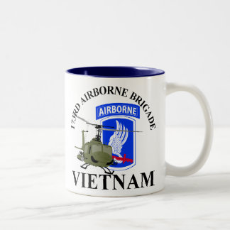 173RD Airborne Vietnam Two-Tone Coffee Mug