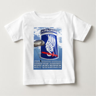 173RD Patch and T-11 Parachute Baby T-Shirt