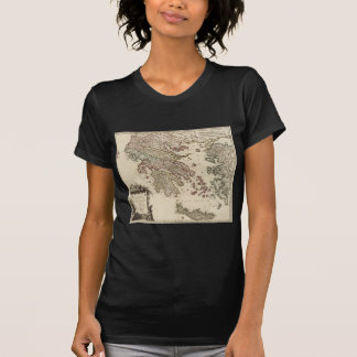 1752 Map of Ancient Greece T-Shirt