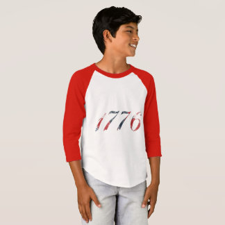 1776 Boy's Raglan T-Shirt