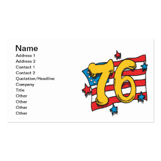 1776 BUSINESS CARD