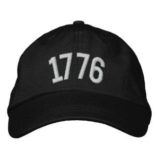 1776 custom Cap Embroidered Baseball Cap