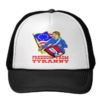 1776 Revolutionary War Freedom From Tyranny Mesh Hat