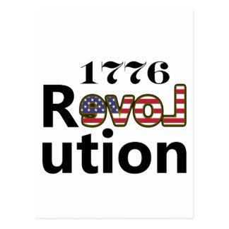"""1776 révolutions """"des Etats-Unis d'amour"""" Cartes Postales"""