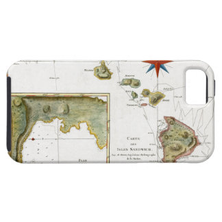 1787 Hawaii Map iPhone 5 Covers
