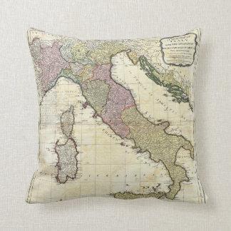 1794 Jean Baptiste Bourguignon D'Anville Italy Map Pillow