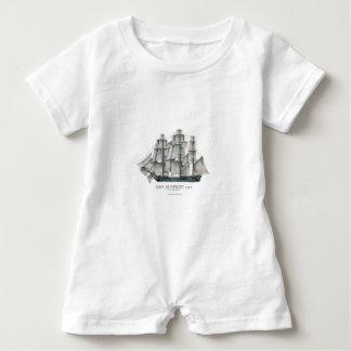 1796 HMS Surprise art Baby Romper