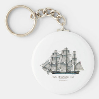 1796 HMS Surprise art Keychain
