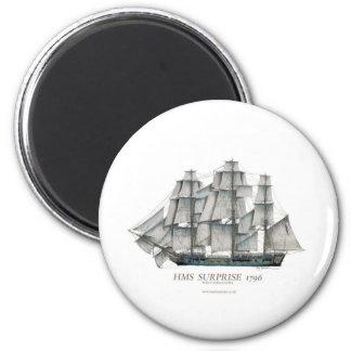 1796 HMS Surprise art Magnet