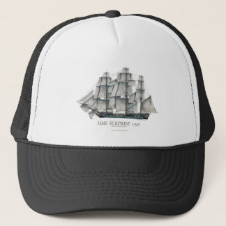 1796 HMS Surprise art Trucker Hat