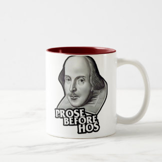 $17.95 Prose Before Hos Two Toned Coffee Mug