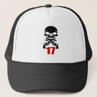17 Birthday Designs Trucker Hat