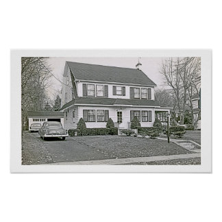 17 Pine Terrace West Ca. 1959 Poster