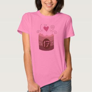 17ème Idées de cadeau d'anniversaire pour elle Tee Shirts