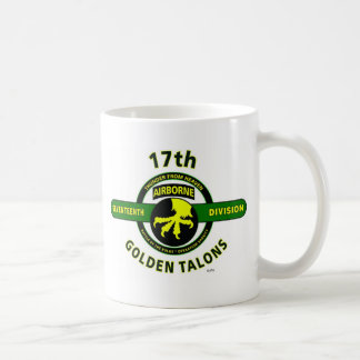 "17TH AIRBORNE DIVISION ""THUNDER FROM HEAVEN"" COFFEE MUG"