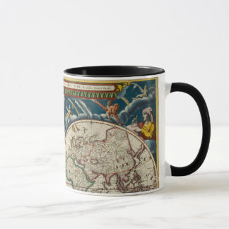 17th Century Antique World Map, Mug / Cup