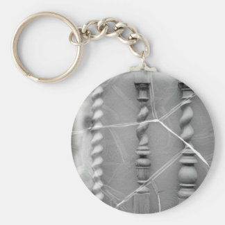 17th-century baluster keychain