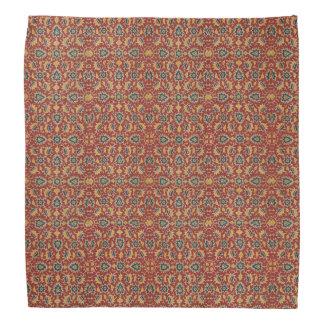 17th Century India Textile Pattern Bandana
