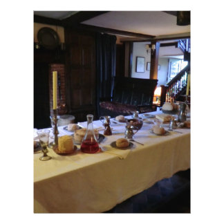 17th Century Kitchen at Old Moseley Hall Personalized Letterhead