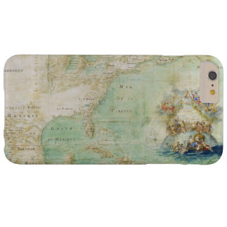 17th Century Map the Americas By Claude Bernou Barely There iPhone 6 Plus Case