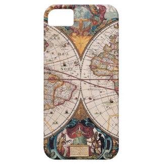 17th Century original World Map1600s iPhone 5 Case