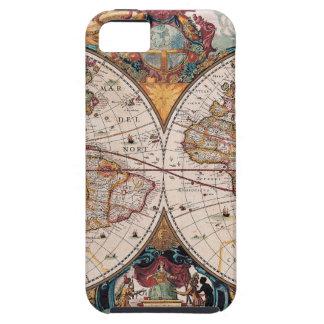 17th Century original World Map1600s iPhone 5 Cases