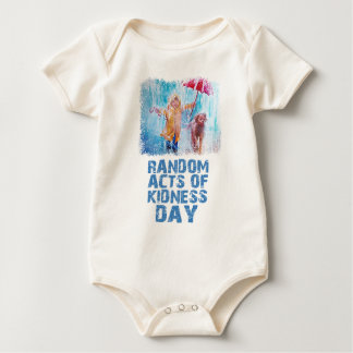 17th February - Random Acts Of Kindness Day Baby Bodysuit
