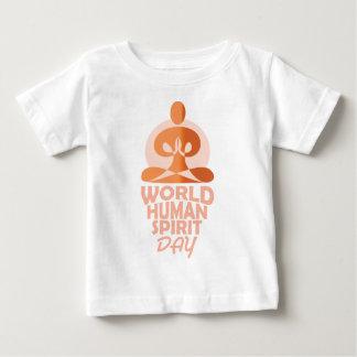 17th February - World Human Spirit Day Baby T-Shirt