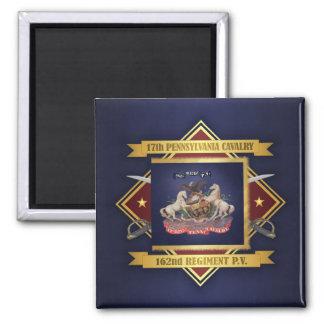 17th Pennsylvania Cavalry Magnet