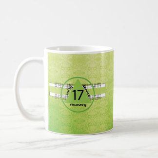 17th Year 12 Step Recovery Anniversary Gift Mug