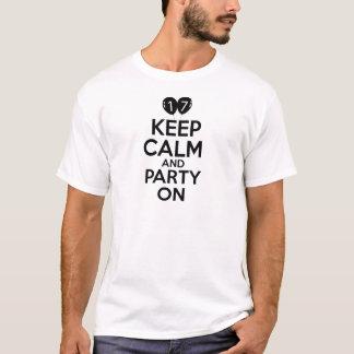 17th year birthday designs T-Shirt