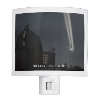 1800s Great Comet Night Light