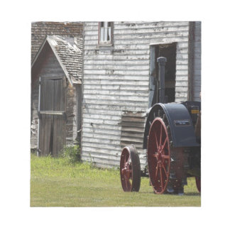 1800's Steam Tractor Notepad