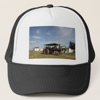 1800's Steam Tractor Trucker Hat